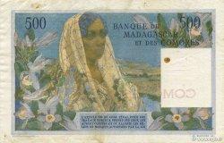 500 Francs COMORES  1963 P.04b TTB