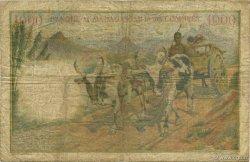 1000 Francs COMORES  1963 P.05b pr.TB