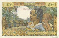 5000 Francs COMORES  1963 P.06c SUP+