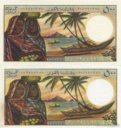 500 Francs COMORES  1976 P.07a SPL