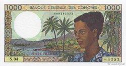 1000 Francs COMORES  1994 P.11b SPL