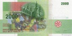 2000 Francs COMORES  2005 P.17 NEUF