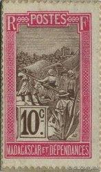 10 Centimes MADAGASCAR  1916 P.07 NEUF