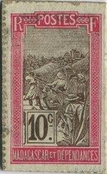 10 Centimes MADAGASCAR  1916 P.17 SPL