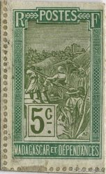 5 Centimes Zébu MADAGASCAR  1916 K.867 SPL