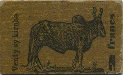 2 Francs MADAGASCAR  1916 P.33 SPL