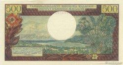 500 Francs - 100 Ariary MADAGASCAR  1964 P.58 SUP+