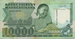 10000 Francs - 2000 Ariary MADAGASCAR  1988 P.74b TTB