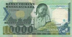 10000 Francs - 2000 Ariary MADAGASCAR  1983 P.70 TTB
