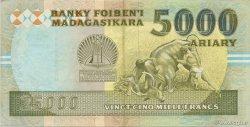 25000 Francs - 5000 Ariary MADAGASCAR  1988 P.74Aa SUP
