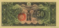 50 Sen CHINE  1940 P.M14 NEUF