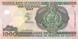 1000 Vatu VANUATU  2002 P.10 NEUF