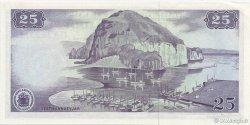 25 Kronur ISLANDE  1961 P.43 pr.NEUF