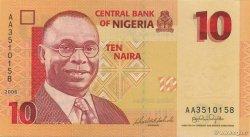 10 Naira NIGERIA  2006 P.33 pr.NEUF