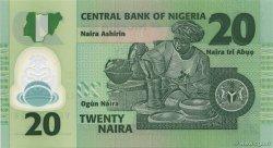 20 Naira NIGERIA  2007 P.34b NEUF
