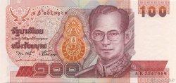100 Baht THAÏLANDE  2002 P.097var NEUF