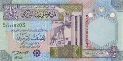 1/2 Dinar LIBYE  2002 P.63 NEUF