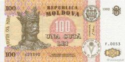 100 Lei MOLDAVIE  1992 P.15a NEUF