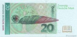 20 Deutsche Mark ALLEMAGNE FÉDÉRALE  1993 P.39b pr.NEUF