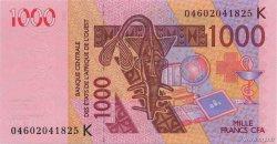 1000 Francs SÉNÉGAL  2004 P.715Kb NEUF