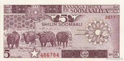 5 Shilin = 5 Shillings SOMALIE  1987 P.31c NEUF