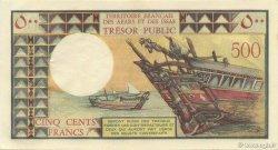 500 Francs AFARS ET ISSAS  1975 P.33 SUP+