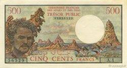500 Francs AFARS ET ISSAS  1975 P.33 pr.NEUF
