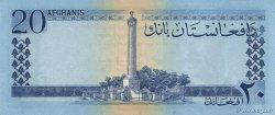 20 Afghanis AFGHANISTAN  1961 P.038 pr.SPL