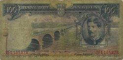 100 Escudos ANGOLA  1956 P.089a pr.TB