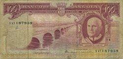 100 Escudos ANGOLA  1962 P.094 TB
