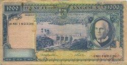 1000 Escudos ANGOLA  1962 P.096 TB