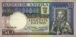 50 Escudos ANGOLA  1973 P.105a SUP