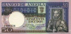 50 Escudos ANGOLA  1973 P.105a SPL