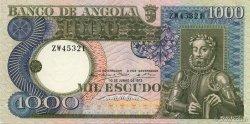 1000 Escudos ANGOLA  1973 P.108 pr.SPL