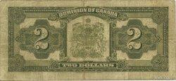 2 Dollars CANADA  1923 P.034i pr.TTB