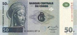 50 Francs CONGO  1997 P.89a NEUF