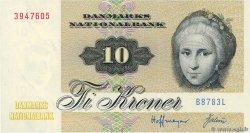 10 Kroner DANEMARK  1978 P.048c NEUF