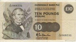 10 Pounds ÉCOSSE  1985 P.213b TTB+