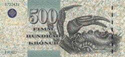 500 Kronur ÎLES FEROE  2004 P.27 pr.NEUF