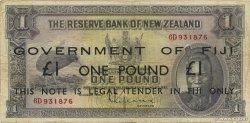 1 Pound FIDJI  1940 P.045b TB+