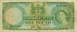 1 Pound FIDJI  1965 P.053g TB