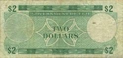 2 Dollars FIDJI  1968 P.060a TB