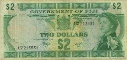2 Dollars FIDJI  1968 P.060a pr.TTB