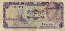 1 Dalasi GAMBIE  1971 P.04f TB+