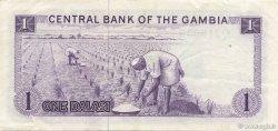 1 Dalasi GAMBIE  1971 P.04f SUP