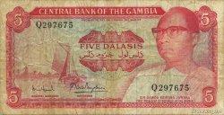 5 Dalasis GAMBIE  1972 P.05d TB