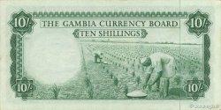 10 Shillings GAMBIE  1965 P.01a SUP à SPL