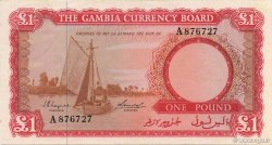 1 Pound GAMBIE  1965 P.02a pr.SPL