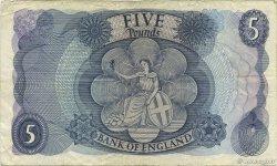 5 Pounds ANGLETERRE  1970 P.375c TTB