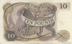 10 Pounds ANGLETERRE  1970 P.376c TTB+